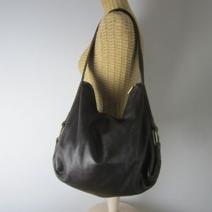 Banana Republic X-Large Brown Leather Shoulder Bag